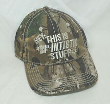 """Outdoor Cap A&E Duck Dynasty Hey This """"si"""" Intistic Stuff Camo Baseball Hat  NEW"""
