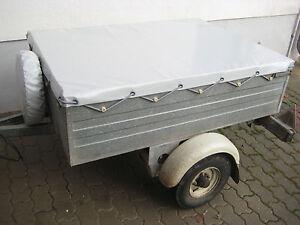 Anhängerplane Neu DDR Anhänger HP 400 HP 350 HP 300 IFA Fortschritt Flachplane