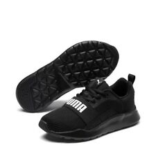 5fd860e2 Puma Wired Running Training Casual Men's Mesh Black (366970 01)Various Size