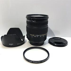 Sigma 17-70mm 1:2.8-3.5 DC Macro HSM für Canon EF-S   TOP ZUSTAND  