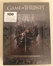 Game of Thrones: The Complete First Season Box Set (DVD, 2012, 5-Disc Set) NEW!