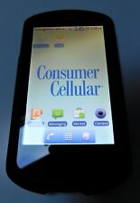 Huawei U8800 Impulse 4G (Consumer Cellular) Black Android Phone with case bundle