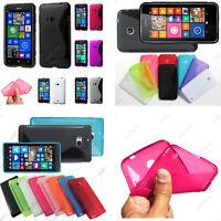 Housse Etui Coque Silicone S Line Gel Souple Nokia Serie Lumia 930 630 530 520