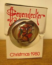 SATURDAY EVENING POST Christmas ornament 1980 Norman Rockwell beat-up 1931 Yule