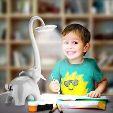 Kinder Nachttischlampe, Dimmbar 5W LED Tischleuchte Schreibtischlampe Tischlampe