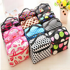 Women Outdoor Cosmetic Bag Toiletry Makeup Beauty Organizer Storage Pouch Case