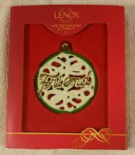 Lenox For My Friend Ornament Christmas Tree