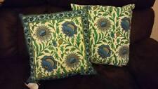 Kilol block printed Anohki style Indian ethnic CushionCover hidden Zip UK seller