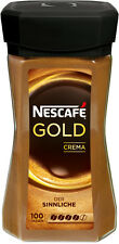 Original german Nescafe Gold Crema Instant Coffee 200g New