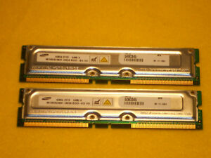 64MB SAMSUNG RAMBUS 184 PIN RIMM 800MHZ