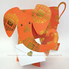 """3D Special Delivery Greeting Card - Elephant """"Afra"""" - SD-054"""