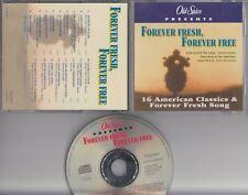 OLD SPICE PROMO Forever Fresh CD Stylistics Diana Ross Commodores BTO