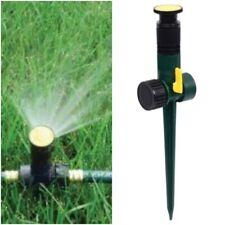 5 Pack Multi - Adjustable Spike Lawn Sprinkler Spray Water Garden Yard Grass