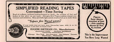 AD LOT OF 3 1915 - 17A ADS DIETZGEN  READING TAPES  STEEL DRAWING INSTRUMENT