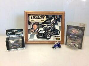 Lot of 4 Andy Hillenburg 1/64th, 1/50th Sprint Cars World Of Outlaws & Picture