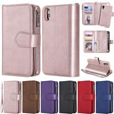 Detachable Wallet Leather Flip Cover Case For iPhone 11 Pro 7 8 Plus X XR XS Max
