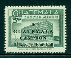 Guatemala MNH Scott #C360 3c NORCECA Soccer Champions $$