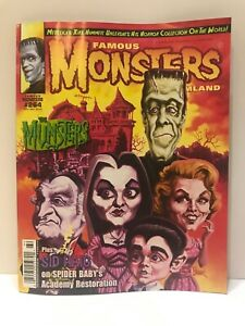 FAMOUS MONSTERS MAGAZINE 2012 #264 MUNSTERS ISSUE MINT