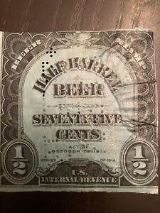 US 1914 Beer Stamp