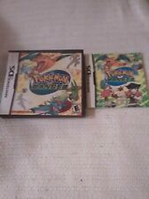 Pokemon Ranger (Nintendo DS, 2006) Box and Manual Only No Game