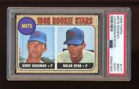 1968 Topps Set Break #177 Nolan Ryan RC PSA 9 MINT (OC)