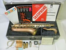 Vintage Bundy Tenor Saxophone w/Case & Accessories - Selmer, Elkhart, Ind.