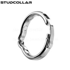 STUDCOLLAR - Adjustable Metal Magnetic Penis Foreskin Glans Ring in Four Sizes