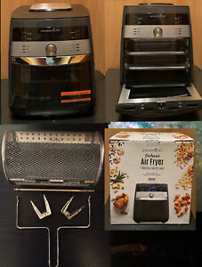 PAMPERED CHEF DELUXE AIR FRYER 100194 NEW NEVER USED : SOLD OUT EVERYWHERE!!