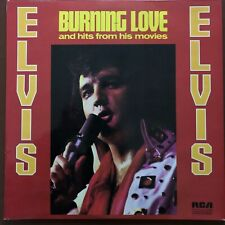"""Elvis Presley - Burning Love and Hits From His Movies 12"""" Vinyl LP"""