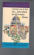 Gertrud von le Fort - Das Schweißtuch der Veronika - 1961
