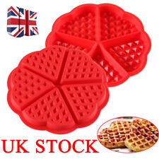 Non Stick Waffles Mould Pan Cake Baking Muffin Chocolate Silicone Mold Tray Tool