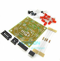 2PCS Electronic Lucky Rotary Suite DIY Kits Production Parts Lucky Rotary