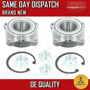 X2 KIT ROVER 600 FRONT WHEEL BEARING + NUT 1993>1999 *BRAND NEW*
