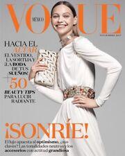 Vogue Mexico November 2017 Sasha Pivovarova Martha Debayle Alanna Arrington NEW