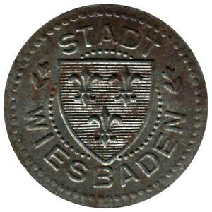 ALLEMAGNE - WIESBADEN - 10.2 - Monnaie de nécessité - 10 pfennig