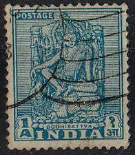 INDIA 1949 Bodhisattva ART /Mi:IN 194/ 1 Indian anna STAMP
