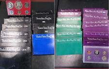 1972-1985 1987-1998 United States Proof Sets Lot of 26