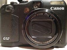 Canon PowerShot G12 Digital Camera (High Sensitivity 10 MP, 5x Zoom) 2.8 Inch