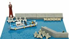 Tomytec Dock Side Details 1/150 N scale Komono 123