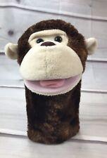 "Aurora Monkey 10"" Hand Puppet Ape Chimpanzee Montgomery"
