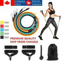 Pull Rope Fitness Exercises Resistance Bands 11pcs/set  Body Training Workout