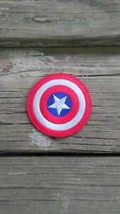 "Captain America 3"" round VELCRO® BRAND FASTENER PATCH"