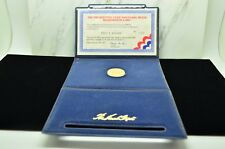 1977 PRESIDENTIAL GOLD INAUGURAL MEDAL LINCOLN MINT -JIMMY CARTER