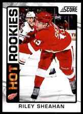 2012-13 Score hot Rookies Riley Sheahan Rookie #538