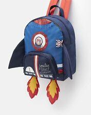 Joules Boys 207176 Novelty Backpack - Rocket - One Size
