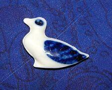 Fève ancienne canard bleu et blanc Ranque-Ducongé