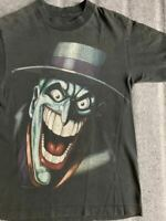 80S Jorker Vintage T-Shirt The Joker Batman DC Comics Marvel Size S