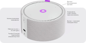 Yandex Station Mini - smart speaker with voice assistant Alice (rus) SALE