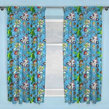"""TOY STORY 4 RESCUE CURTAINS READYMADE KIDS BEDROOM 72"""" DROP"""