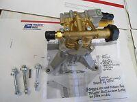 BONUS WAND TIPS FREE Homelite BRASS HEAD 3100 PSI Pressure Washer Pump REAR PIPE